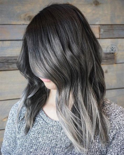 how to color gray hair 1000 ideas about gray hair colors on gray