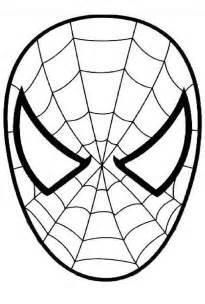 coloriage spiderman visage 224 imprimer sur coloriages