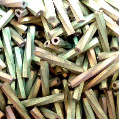 matte twisted 12mm miyuki twisted bugles matte met khaki iris miyuki