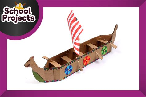 how to make a boat at school how to make a viking longboat hobbycraft blog