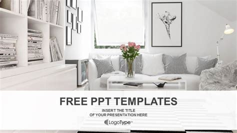 home design templates free interior design living room powerpoint templates