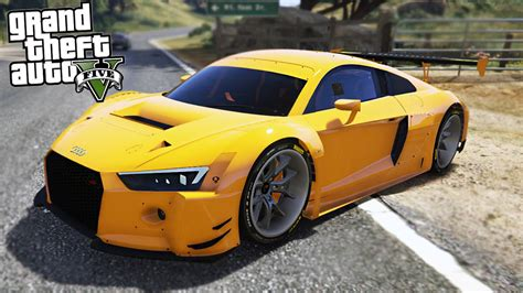 Schnellster Audi R8 by Gta 5 Mods Fastest Audi R8 Youtube