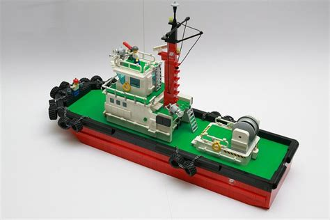 Lego Boat lego tug boat lego ships boats lego and tug boats