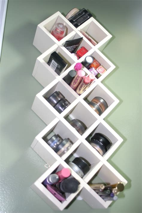 Shelf For Makeup by Makeup Storage On Vanities Makeup Organization And Diy Makeup
