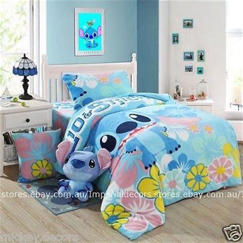 lilo and stitch bed set winter bedding set lilo stitch cartoon duvet cover