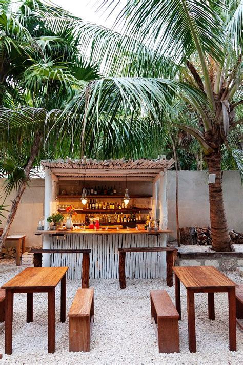 Backyard Bistro Restaurant by Eat On The Hartwood Restaurant Tulum Mexico