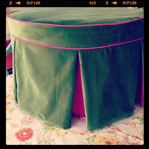 how to make your own ottoman diy round ottoman effortless style blog