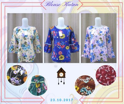 Pusat Grosir Baju Atasan Trifosa Blouse Katun Jepang Grade A sentra grosir blouse katun wanita dewasa murah 28ribu