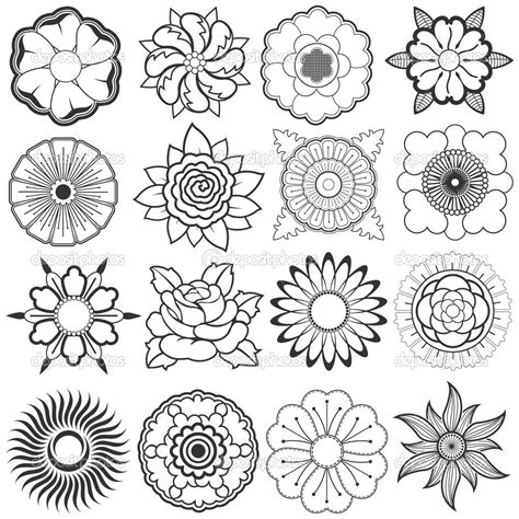 flower pattern sketch sketches of flowers hd wallpapers download free sketches