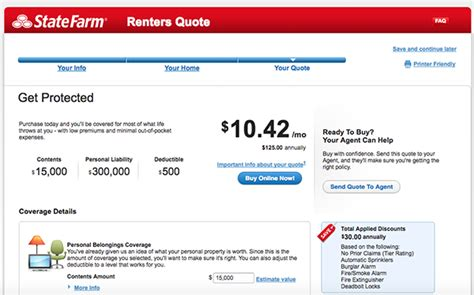 renters insurance   amica state farm