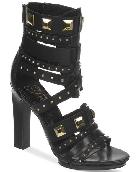 fergie sandals lyst fergie bonnie gladiator dress sandals in black