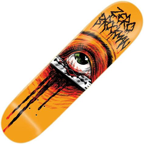 zero decks zero skateboards zero brockman razors edge deck 8 0