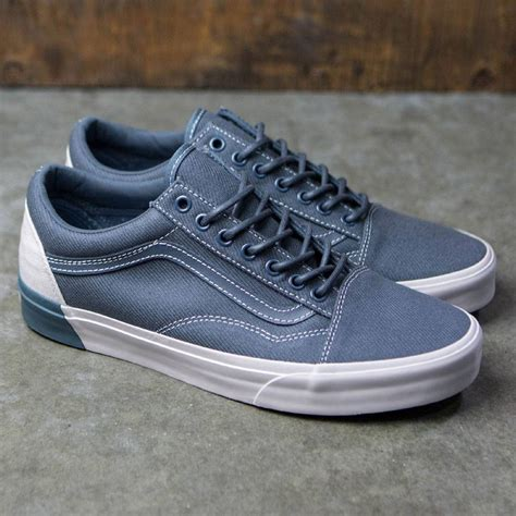 Vans Skool Dx Blocked vans skool dx blocked gray white