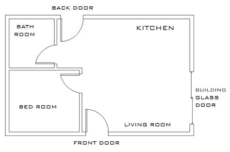 basic floor plan mechanical architectural cad drawings the basic floor plan
