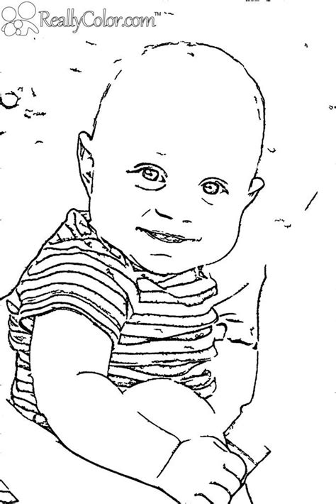 Baby Boy Coloring Pages Coloring Home Newborn Baby Coloring Pages Free