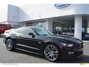 Black Ford Mustang Gt 2016 Shadow Black Ford Mustang Gt Premium Coupe 109113881 Gtcarlot Com Car Color Galleries