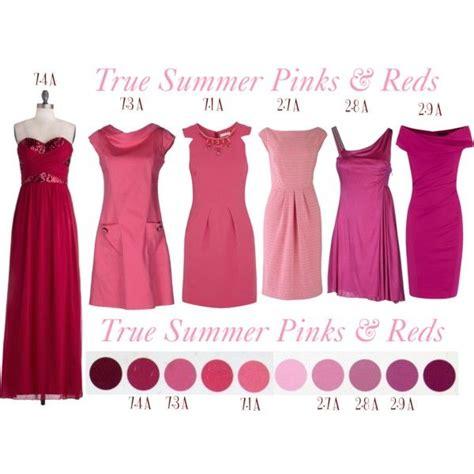 True Summer Pinterest | true summer pinks reds summer coloring pinterest