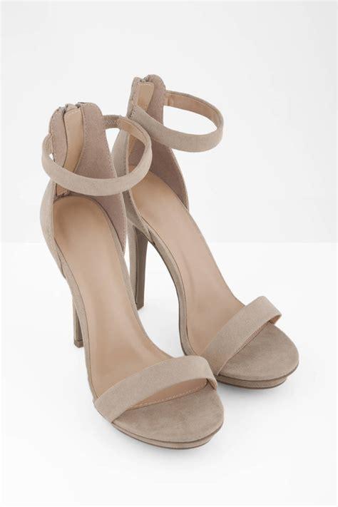 Heels Beige trendy heels beige heels open toe heels 64 00