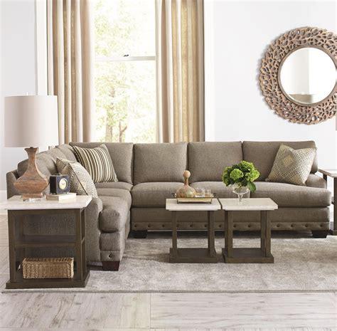 bassett hudson sofa bassett cu 2 carmine five seat sectional sofa hudson s