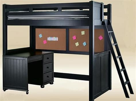 black loft bed 1000 ideas about loft bed desk on lofted beds