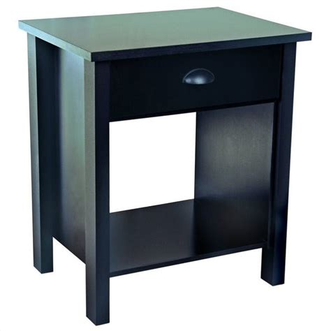 Bar Awnings Night Stand In Black 3017 21bl