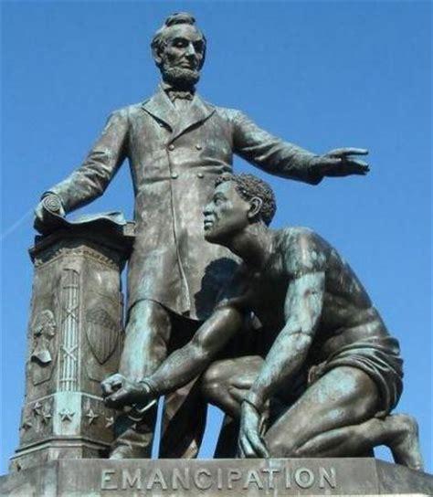lincoln freeing the slaves emancipation memorial