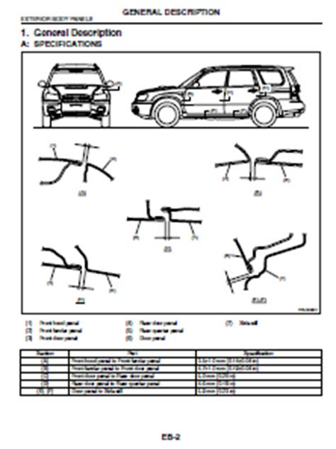 best car repair manuals 2006 subaru forester electronic throttle control 2006 subaru forester service manual forester car service manuals
