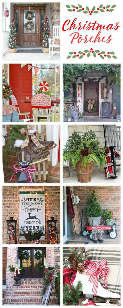 outdoor lights christmas decorating ideas for bungalow porch decorations house of hawthornes