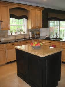 kitchens with different colored islands different color kitchen island dynamic kitchens amp furniture