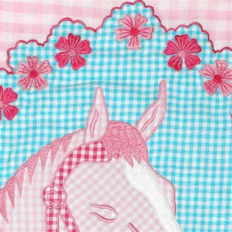 vorhang pferdemotiv vorhang pferdemotiv in rosa im shop oli niki kaufen