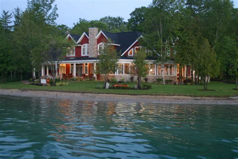 torch lake homes gallery professional builders