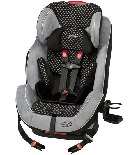 evenflo symphony  lx    car seat graphic black