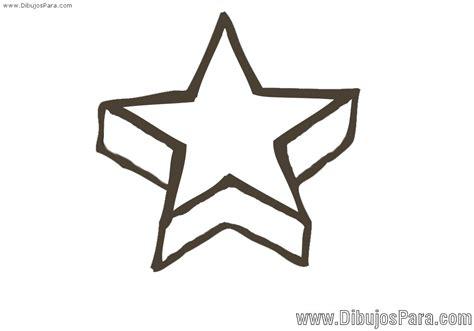 imagenes para dibujar a lapiz estrellas dibujo de estrella en perspectiva para pintar dibujos