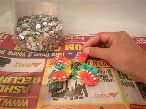 How To Make A Paper Mache Flower - how to make paper mache flowers 10 steps with pictures