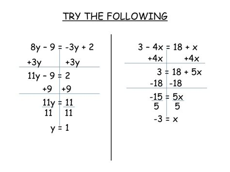 Equations With Variables On Both Sides Worksheet by Clearing Fractions Equations Worksheet Fractions
