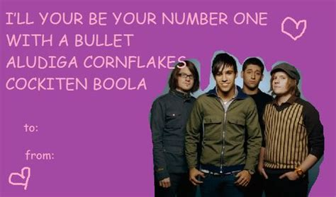 fall out boy cards fall out boy a nerdy