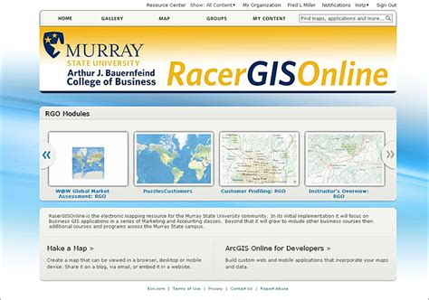 Murray State Mba by Murray State S Modules Apply Arcgis