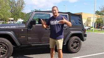 Removing Soft Top From Jeep Wrangler Unlimited Soft Top Removal Jeep Wrangler Unlimited 2016