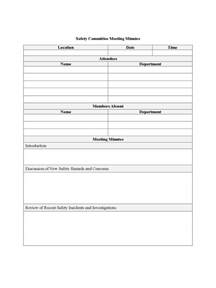 investment committee minutes template committee meeting minutes template best and professional