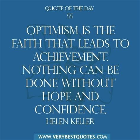 quote of the day optimism quotes from quotesgram