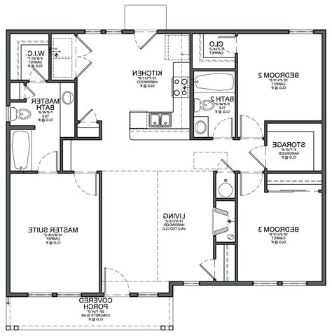 blueprint for houses sle floor layoutexle plan for small house exles