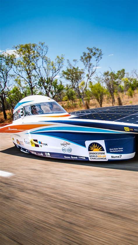 Wallpaper Nuon Car, Solar Powered Car, World Solar