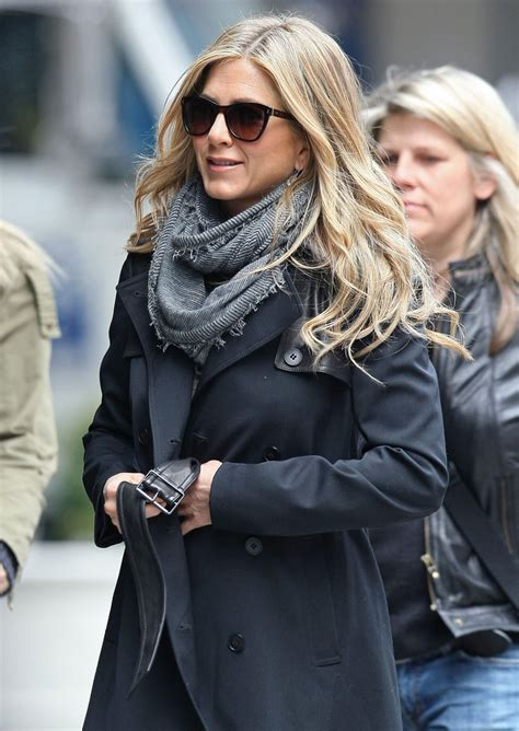 aniston knit scarf aniston looks