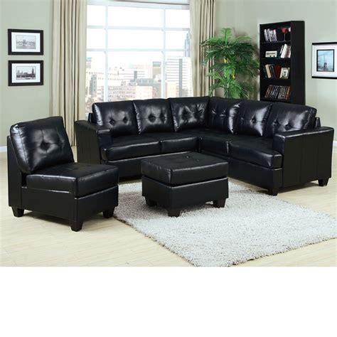 black bonded leather sectional dreamfurniture com 50490 platinum black bonded leather