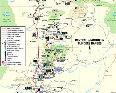 Plat Maps by Flinders Ranges Map Www Pixshark Com Images Galleries