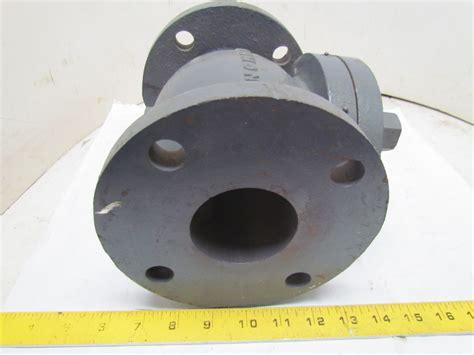 swing gate check valve hammond manufacturing 125 iron swing gate check valve