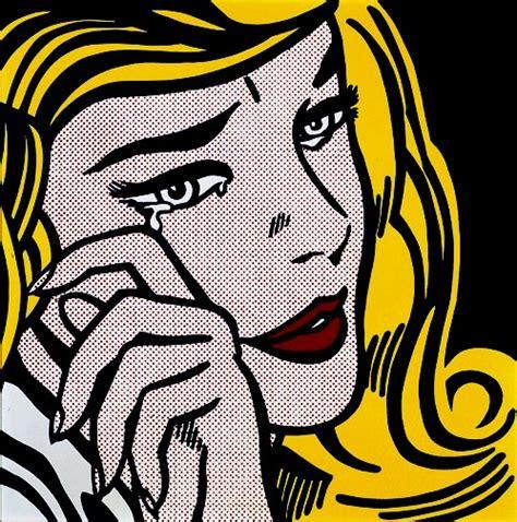 roy lichtenstein roy lichtenstein crying 1964