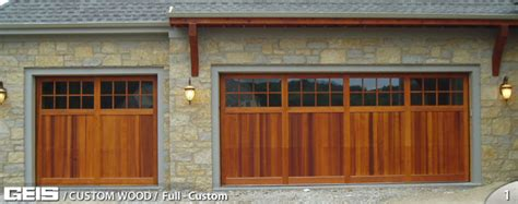 Full Custom Custom Wood Geis Garage Doors Milwaukee Geis Garage Doors
