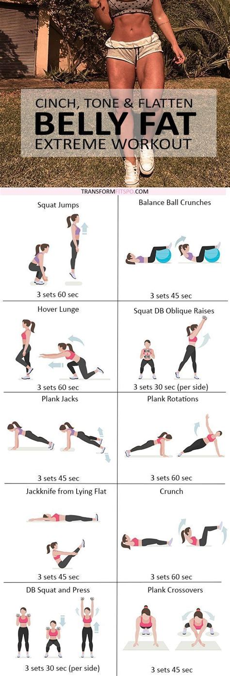 cinch tone flatten belly burner workout sport fitnes fitness workouts