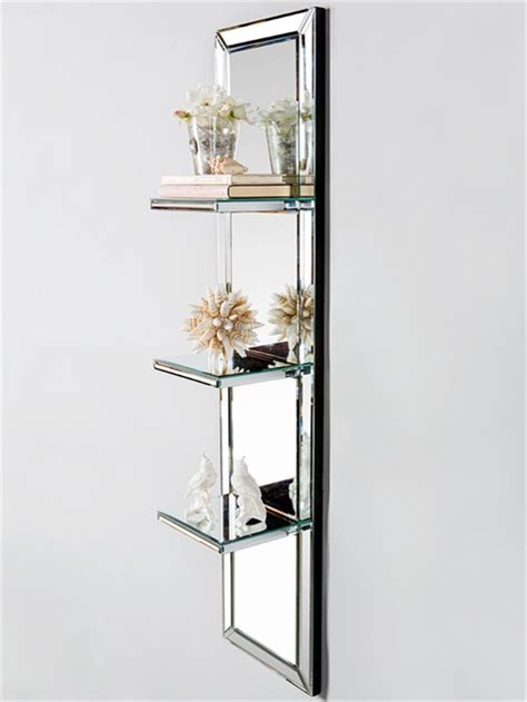 Mirrored Home Goods That Look Tres Chic Design Home Goods Shelves